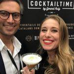 Cocktail Premios Gaudí preparado con Kensho sake