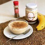 Batido vegano de amazake y plátano por Nutresalut